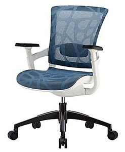 Skate Mesh Ergonomic Mid-Back Office Chair - Like New!
