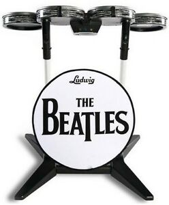 NEW-PS3-RINGO-STARR-DRUMS-THE-BEATLES-ROCK-BAND-GUITAR-HERO-RARE-LONG-DELETED