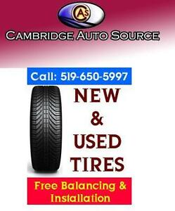 NEW & USED TIRES *FREE* BALANCING & INSTALLATION - 519-650-5997