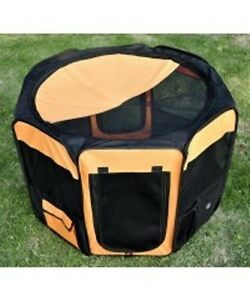 "36"" Pet Playpen / Dog Cat Exercise Pen Soft-Kennel CRATE"