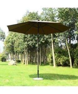 Solar Patio Umbrella w/ LED lights and Bluetooth music speaker