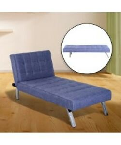 Bluish Violet Lavender Convertible Sofa bed / Futon Sofa Bed