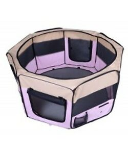 Pet Playpen Portable Exercise Kennel for Dogs/Cat/Puppy Foldable