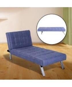 Bluish Violet Lavender Convertible Sofa bed / Futon Sofa Bed