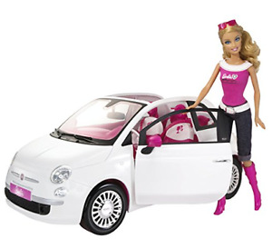 Barbie Doll and Fiat Vehicle - good condition