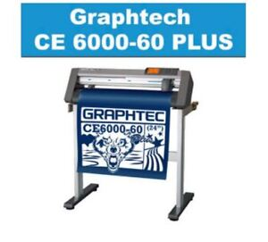Graphtec CE6000 PLUS 24 Professional vinyl cutter plotter mac/pc