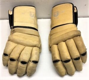 Gants de hockey Title Vintage en cuir
