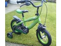 12 inch bicycle perfect condition like new suit around 4years old £35.