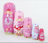 5 piece Lucy Locket Nesting Dolls. New