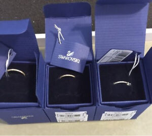 Swarovski anniversary bands. New in box
