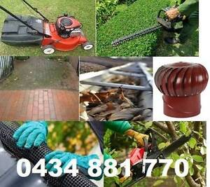 FROM $30 lawns,hedges,trees,weeds,gutters,taps,drains Blacktown Blacktown Area Preview