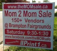---->> Don't miss Brampton's MOM 2 MOM Garage Sale OCT 1st!!!