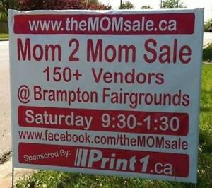 ---->> Don't miss Brampton's MOM 2 MOM Garage Sale MAY 7th!!!