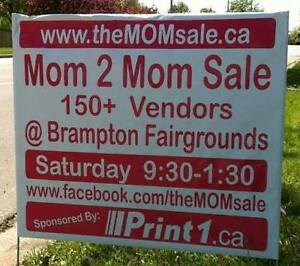 ---->> Don't miss Brampton's MOM 2 MOM Garage Sale MAY 7th!!!