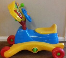 Vtech ride and grow toy
