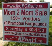 ---->> Don't miss Brampton's MOM 2 MOM Garage Sale OCT 1st!!!