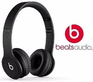 REFURB BEATS BY DRE SOLO HD BLACK   Electronics Audio Headphones Headphones WIRED SOLO HD  87277689
