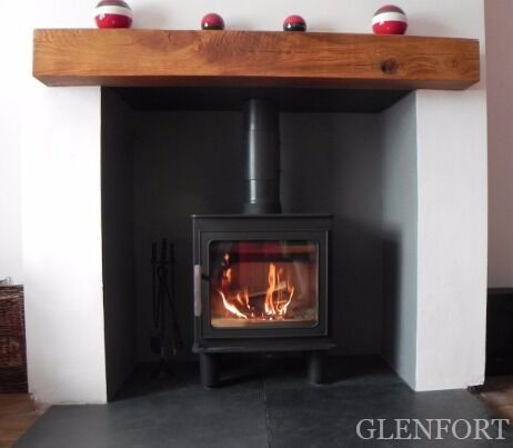 Oak Beam Fireplace Beams Stove Floating Mantel Stove Surrounds