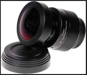 Super Fisheye Lens by Sunex for Nikon DSLR