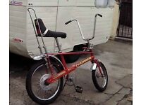 All original Raleigh chopper