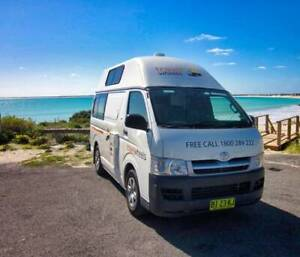 2006 Toyota Hiace 2-3 person hi top campervan Botany Botany Bay Area Preview