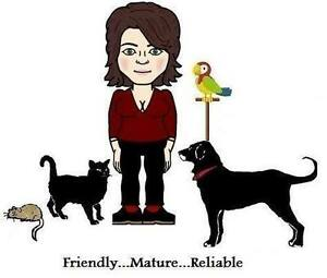 Caring, Reliable Pet/House sitter available..