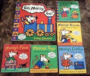 Maisy Board Books - Learn French with Maisy