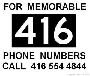 416 Area-Code Phone Number - Easy Vanity VIP Premium #s for Sale