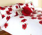 Red Flower Bedding
