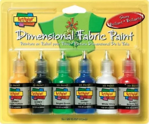 3D Fabric Paint **BRAND NEW**