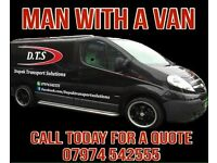 Nottingham man with a van. Nottingham removals. Clearances. Rubbish removal. House moves. Removals