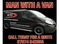 Nottingham man with a van. Nottingham removals. Courier. Removals. House moves. Sofa collection