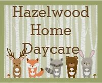 HAZELWOOD HOME DAYCARE - OPENING