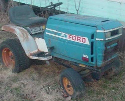 Ford garden tractor ebay sciox Choice Image