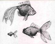 Fish Rubber Stamp