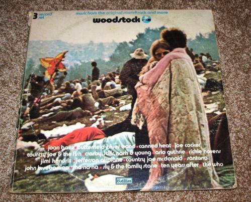 Woodstock Album Records Ebay