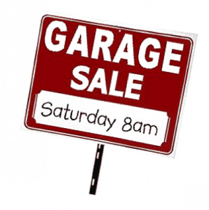 Garage Sale Sat. Aug. 18th