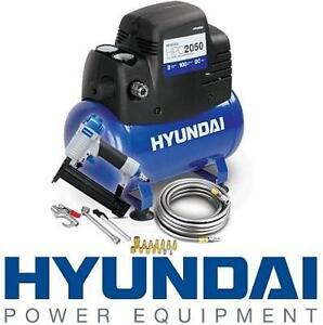 NEW HYUNDAI AIR COMPRESSOR KIT 2GAL OIL-FREE 104537196