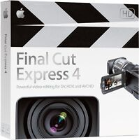 Never Used 'Final Cute Express 4' (Old Version), GREAT Price!