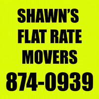 Flat Rate Movers. We can help with your moving needs.