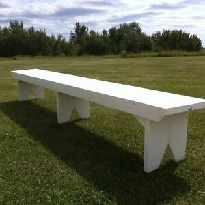 Benches for Rent