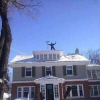 Affordable Rooftop Snow/Ice Dam Removal Service's