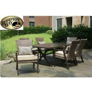 NEW* HAMPTON BAY 7PC DINING SET 188594387 THOUSAND OAKS