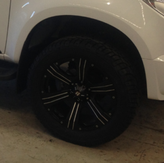 20 inch Holden Colorado Rims and tyres