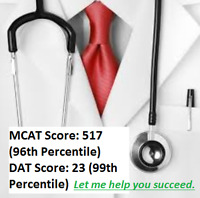Medical Student Tutoring MCAT and DAT - Affordable