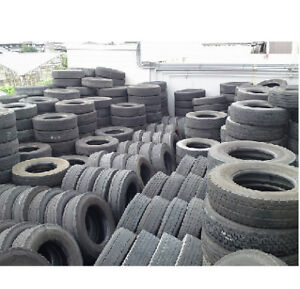 11R22.5 Truck Tires On Steel Rims MINIMUM PURCHASE 50 TIRES