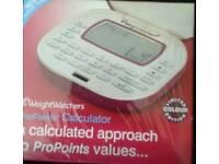 Weight Watcher's Point Calculator