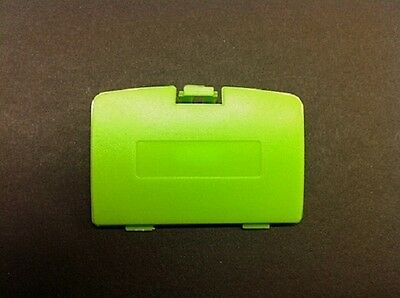 (NEW LIME GREEN GAME BOY COLOR REPLACEMENT BATTERY COVER LID DOOR FOR SYSTEM D36)