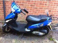 Baotain moped