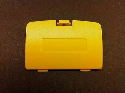 (NEW YELLOW GAME BOY COLOR REPLACEMENT BATTERY COVER LID DOOR FOR SYSTEM CONSOLE)